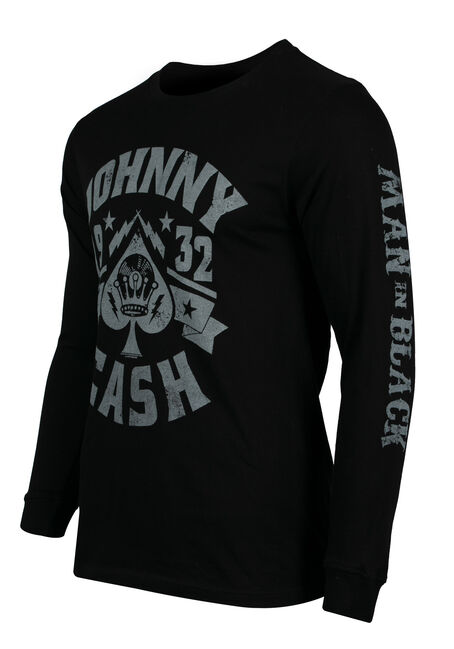Men's Johnny Cash 1932 Tee, BLACK, hi-res