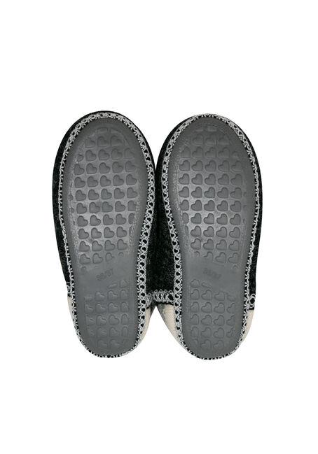 Ladies' Nordic Slipper Booties, GREY, hi-res