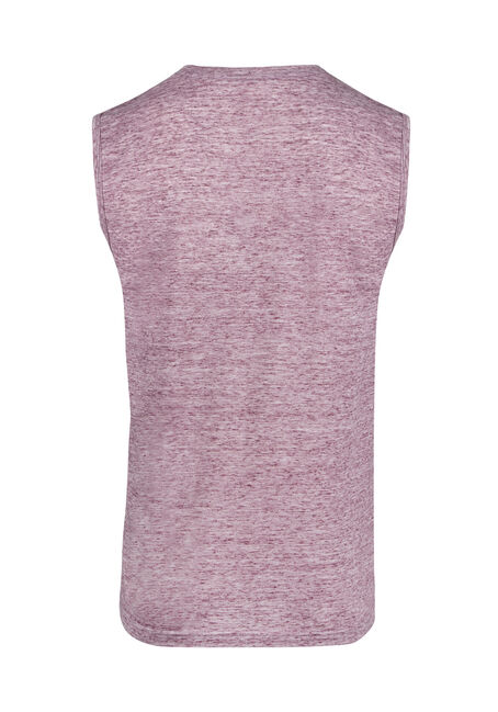 Men's Everyday Space Dye Tank, RAISIN, hi-res