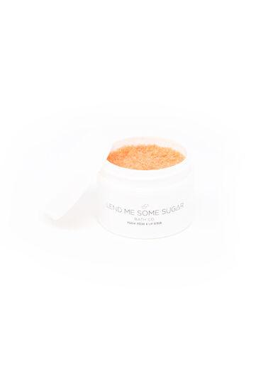 Peach Lip Scrub, PEACH, hi-res
