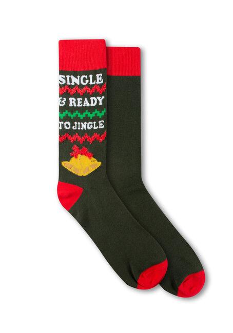 Men's Ready to Jingle Crew Socks