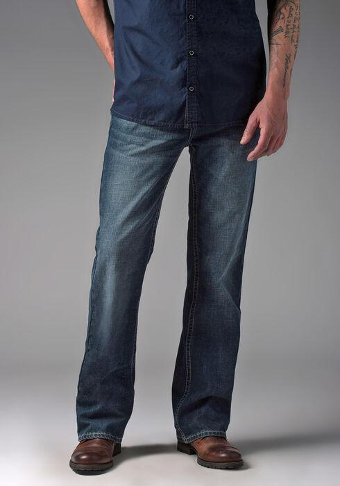 Men's Bootcut Medium Vintage Jeans, MEDIUM WASH, hi-res