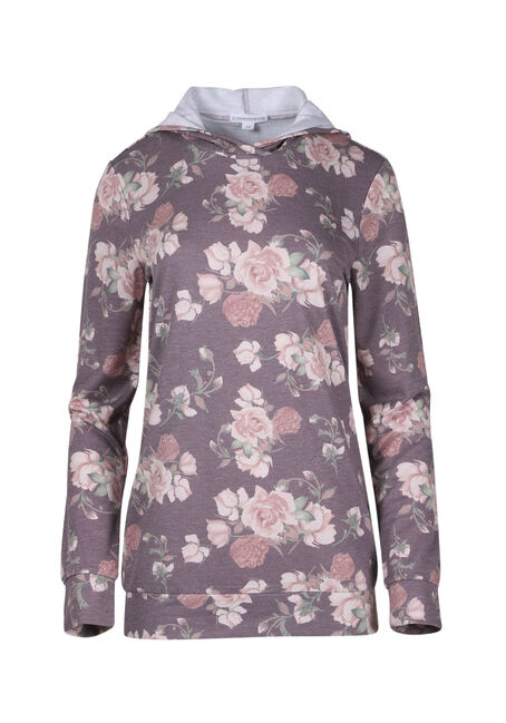 Ladies' Floral Hooded Tee