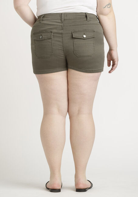 Women's Plus Surplus Pocket Short, DARK OLIVE, hi-res