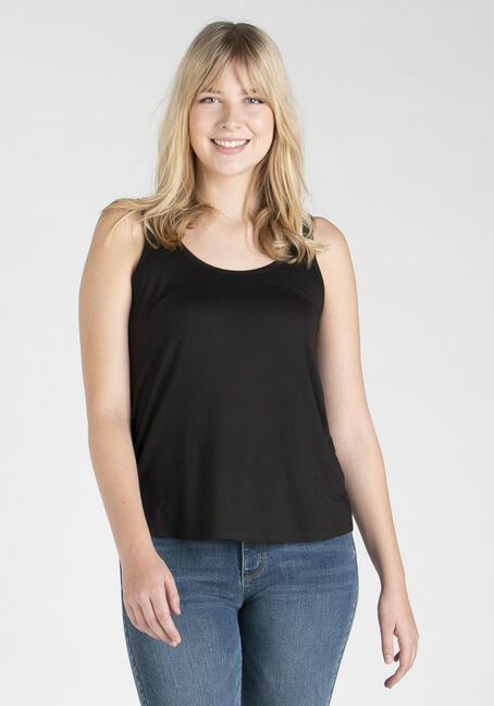 Women's Scoop Neck Loose Fit Tank