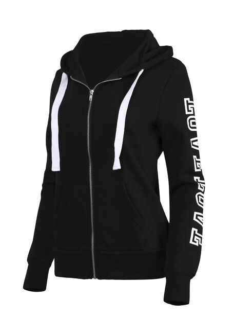 Ladies' Love Hoodie, BLACK, hi-res