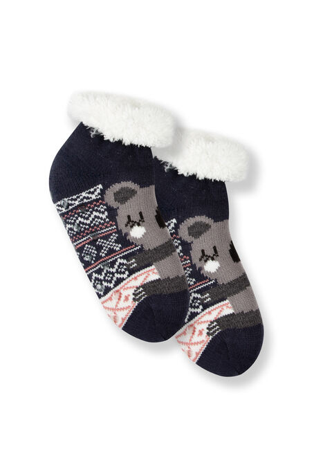 Women's Koala Slipper Socks