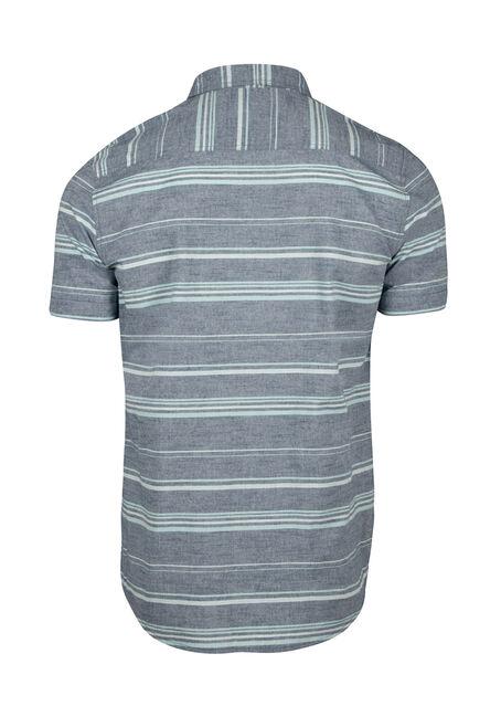 Men's Stripe Shirt, SKY, hi-res