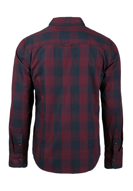 Men's Buffalo Plaid Shirt, NAVY, hi-res