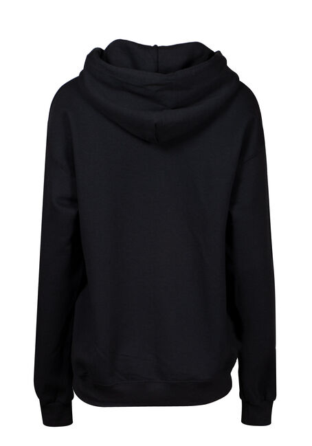 Women's Friends Hoodie, BLACK, hi-res