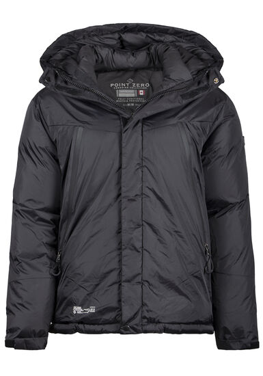 Men's Puffer Jacket, BLACK, hi-res