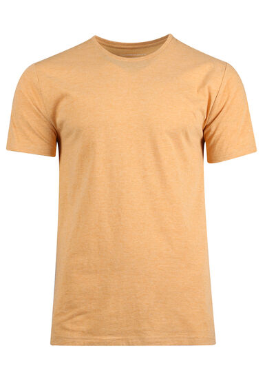 Men's Everyday Crew Neck Tee, GOLDEN, hi-res