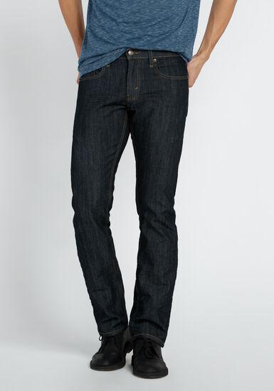 Men's Straight Leg Jeans, DARK WASH, hi-res