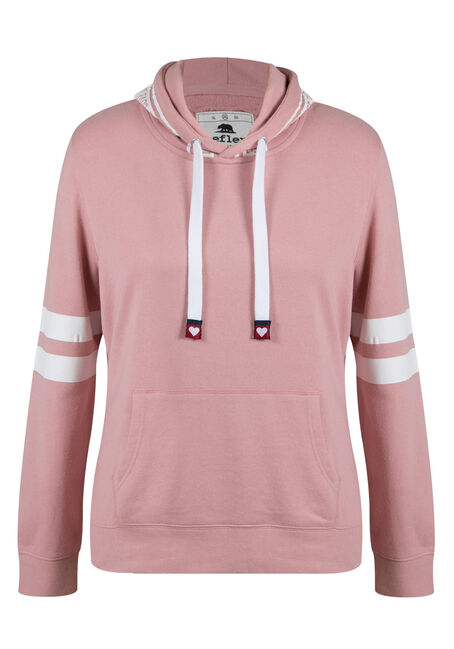 Ladies' Plus Size Love Football Hoodie