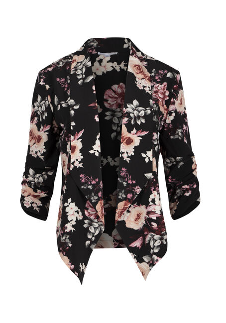 Ladies' Floral Blazer
