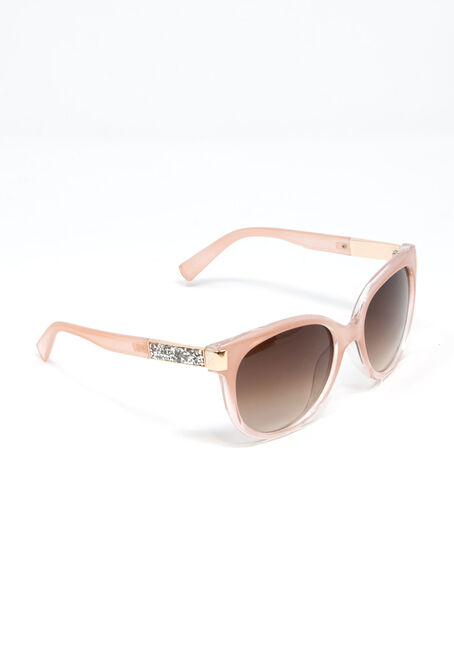 Women's Wayfarer Sunglasses, PALE PINK, hi-res