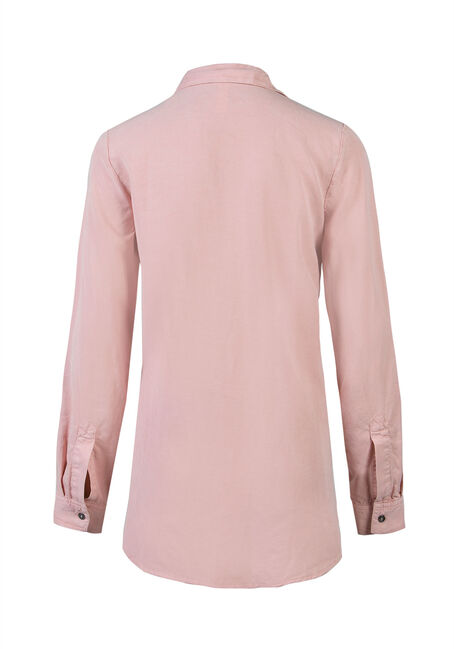 Ladies' Utility Shirt, PEONY, hi-res
