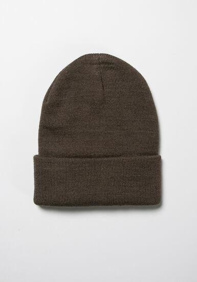 Men's Ribbed Hat, OLIVE, hi-res