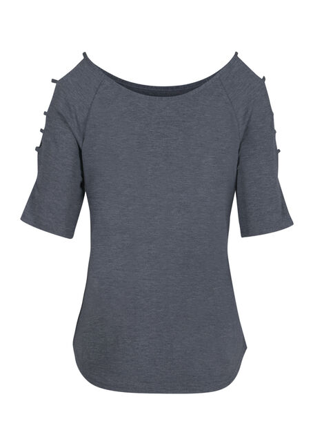 Ladies' Ladder Sleeve Tee, SD ECLIPSE, hi-res