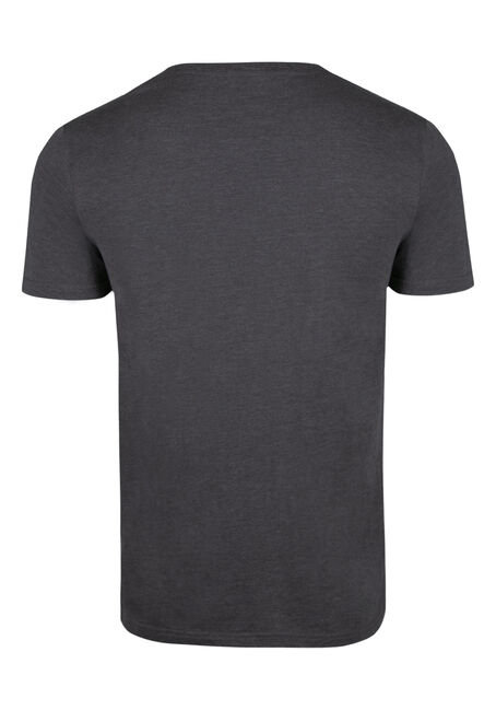 Men's Everyday V-Neck Tee, DK SHADOW, hi-res