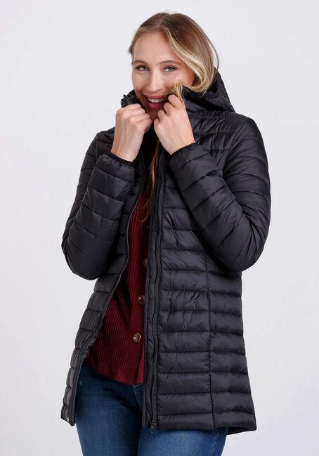 Women's Hooded Puffer Jacket
