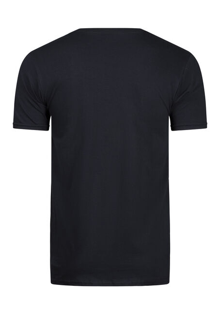 Men's Big Buck Tee, BLACK, hi-res