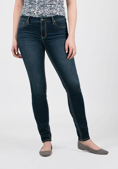Women's Hi-Rise Skinny Jeans, MEDIUM WASH, hi-res