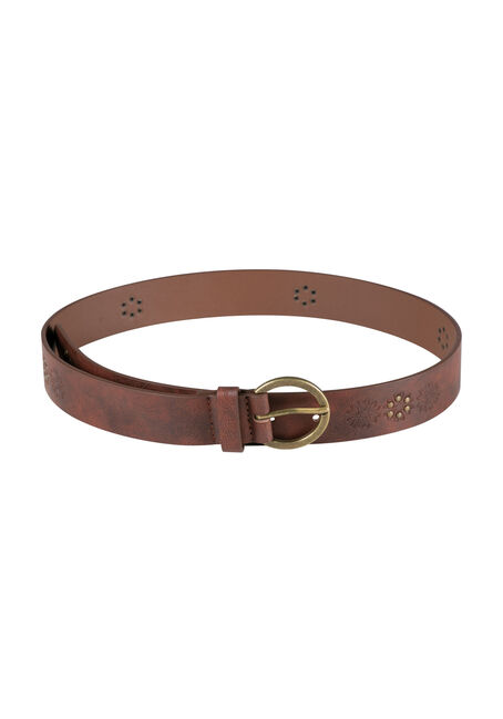 Ladies' Embossed & Studded Belt