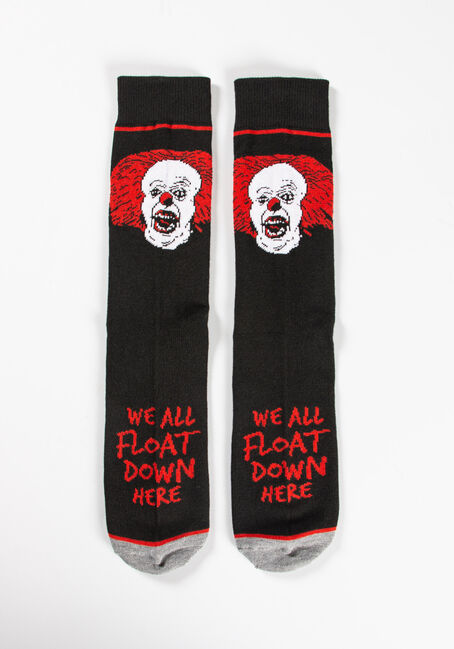 Men's IT Crew Socks, BLACK, hi-res