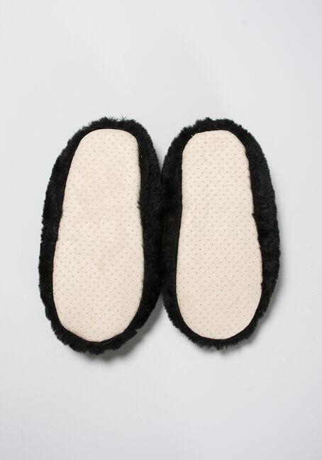 Women's Cozy Slippers, BLACK, hi-res