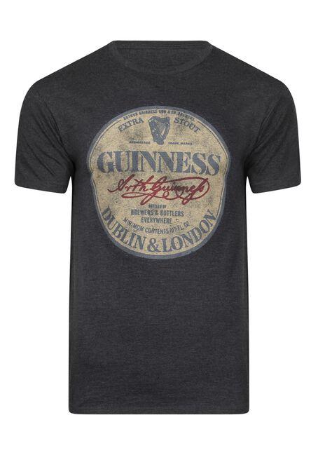 Men's Guinness Tee, DARK HEATHER, hi-res