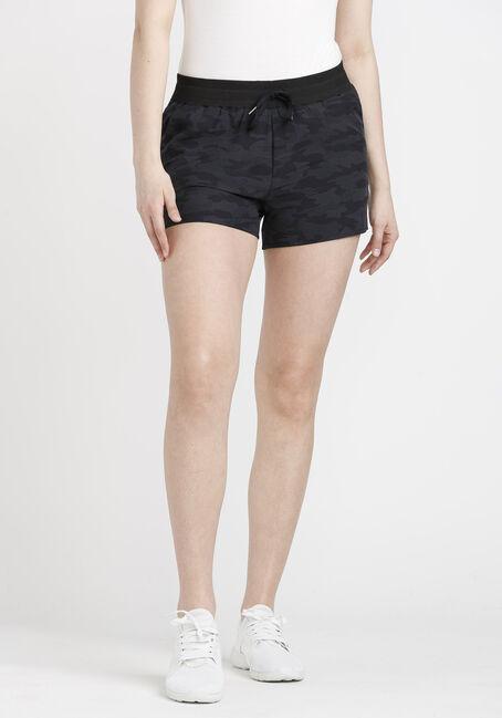 Women's Camo Print Hybrid Short