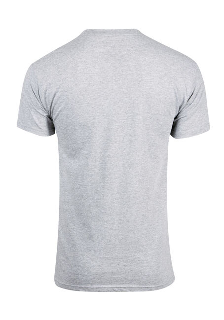 Men's Zoom University Tee, SPORT GREY, hi-res