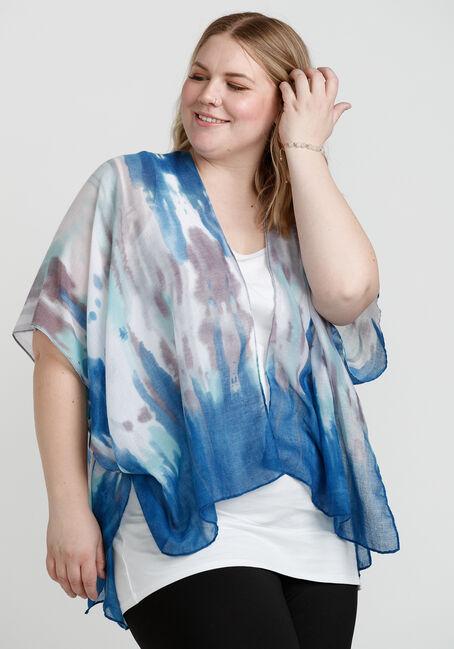 Women's Tie Dye Print Wrap
