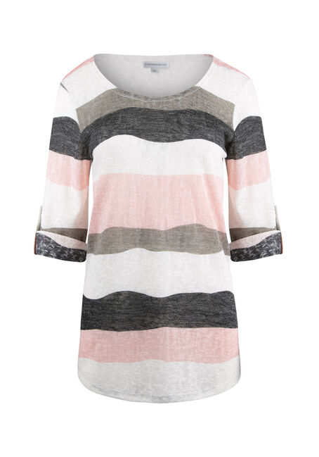 Ladies' Stripe Tunic Tee