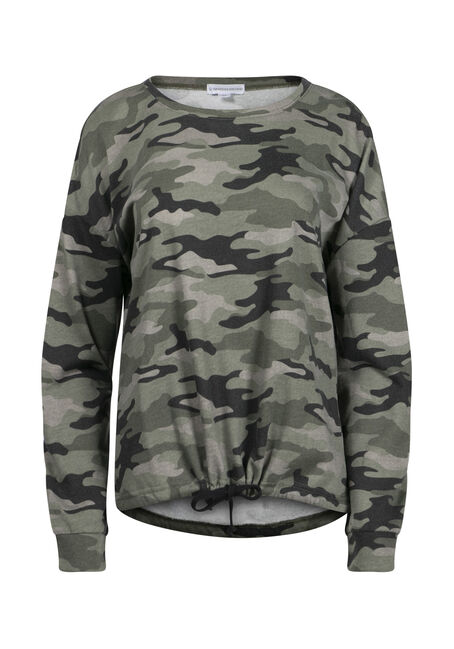 Women's Camo Sweatshirt