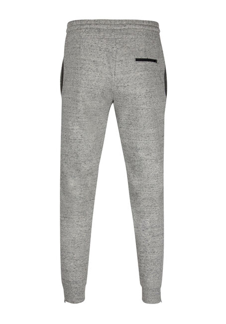 Men's Speckled Jogger, HEATHER GREY, hi-res