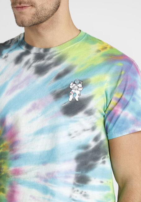 Men's Tie Dye Astronaut Tee, MULTI, hi-res