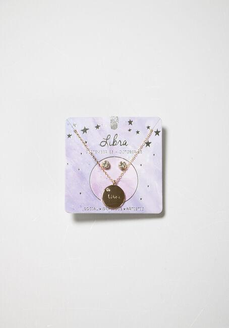 Women's Libra Necklace Set