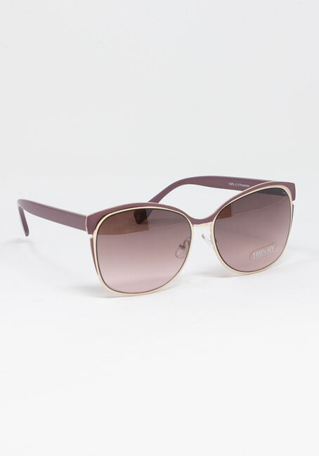 Women's Metal Frame Sunglasses