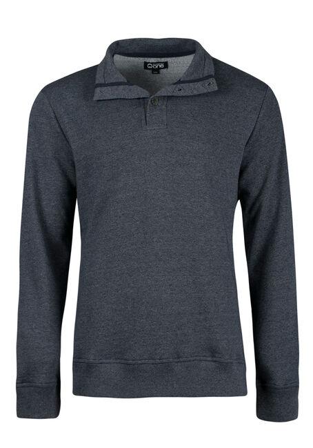 Men's Mock Neck Sweater