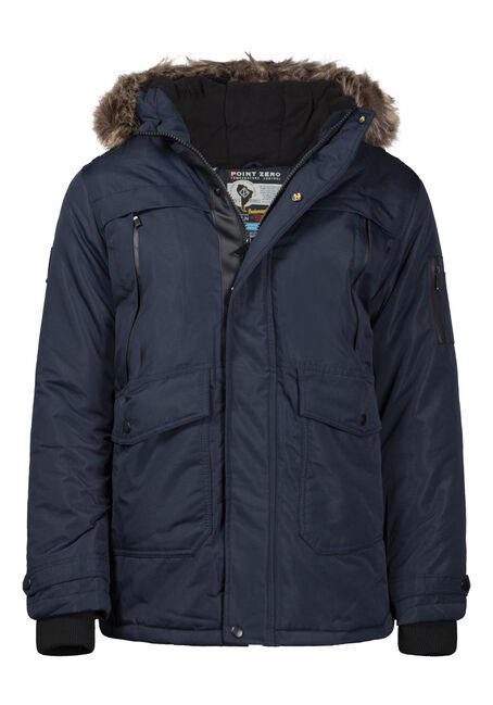 Men's Fur Trim Parka