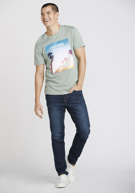 Men's Hollywood Tee, LILY PAD, hi-res
