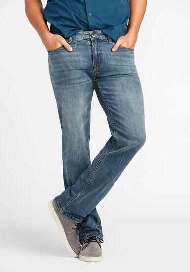 Men's Slim Straight Jeans, LIGHT WASH, hi-res