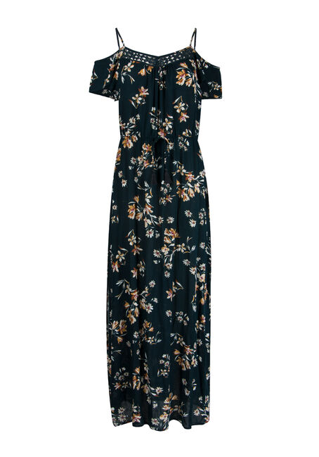 Ladies' Cold Shoulder Maxi Dress