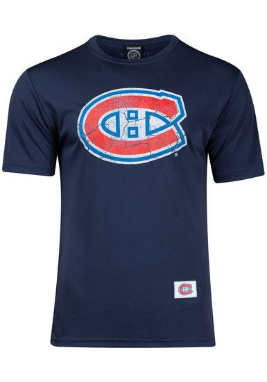 Men's NHL Canadiens Tee, NAVY, hi-res