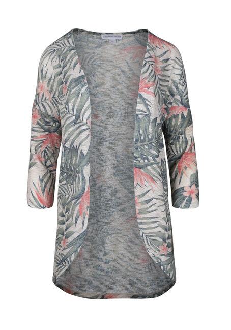 Women's Palm Print Cardigan