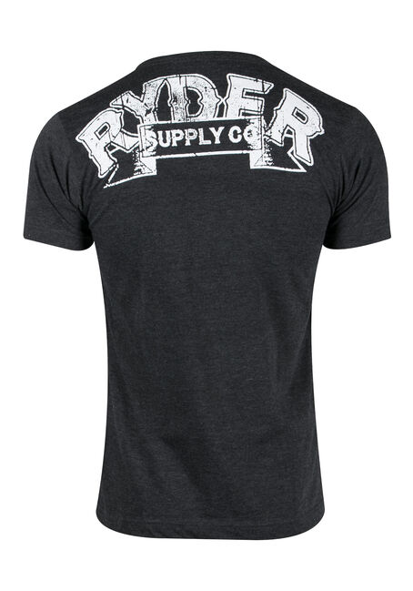 Men's Motorcycle Club Tee, GREY, hi-res