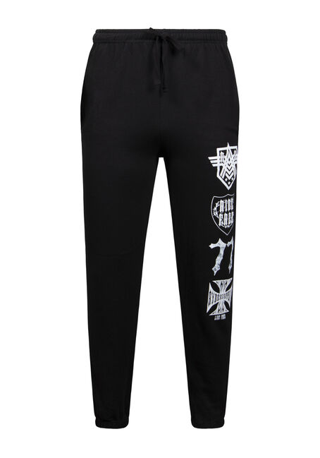 Men's Graphic Fleece Pant