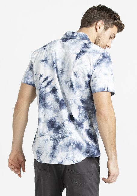 Men's Tie-Dye Shirt, BLUE, hi-res